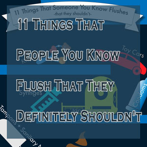 11 Things That People You Know Flush That They Definitely Shouldn't