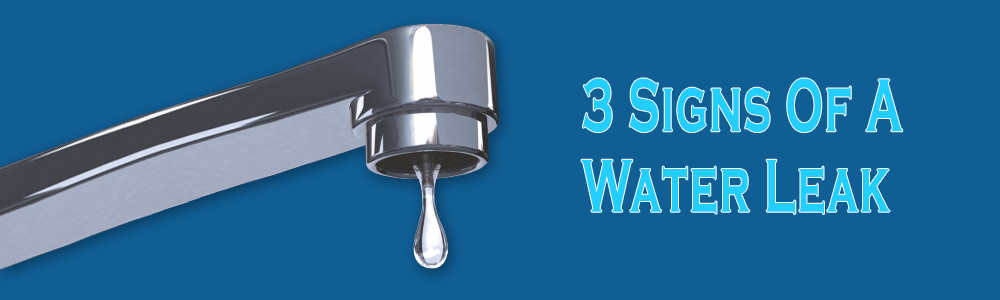 3 Signs of A Water Leak
