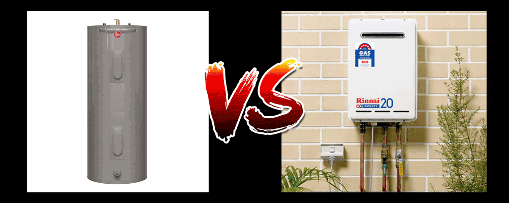 gas hot water systems vs electric hot water systems.