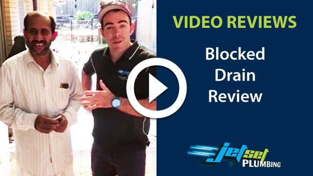 Blocked Drain video testimonial 1