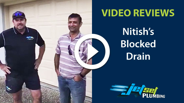 Blocked Drain video testimonial 2