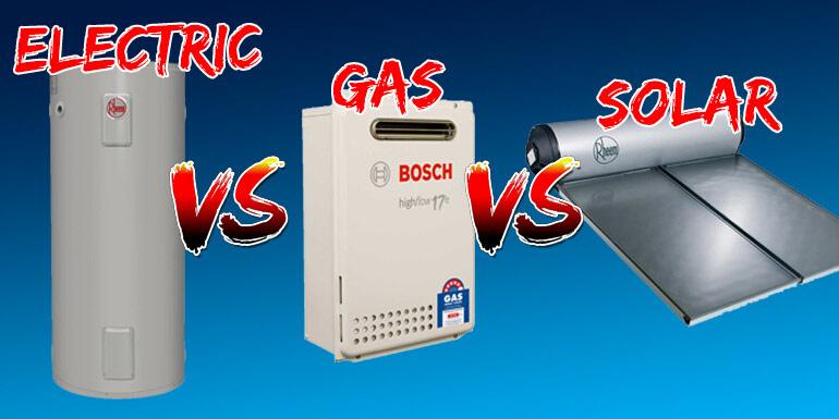 Electric vs Gas vs Solar
