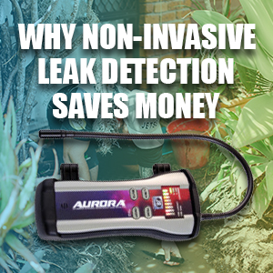 Why Non-Invasive Leak Detection Saves Money