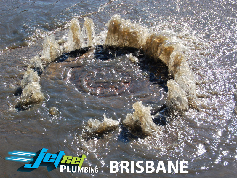 Blocked Sewage Drain Brisbane