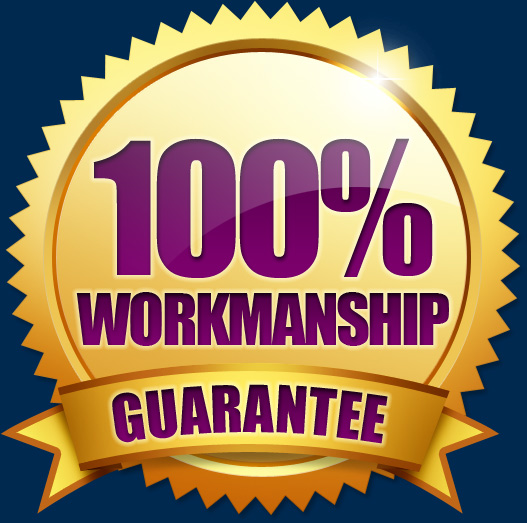 100% Workmanship Guarantee - Dishwasher Installation