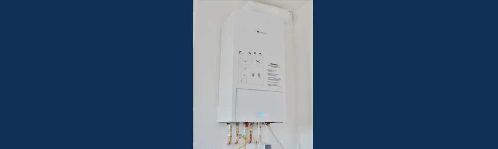 problèmes avec le système d'eau chaude