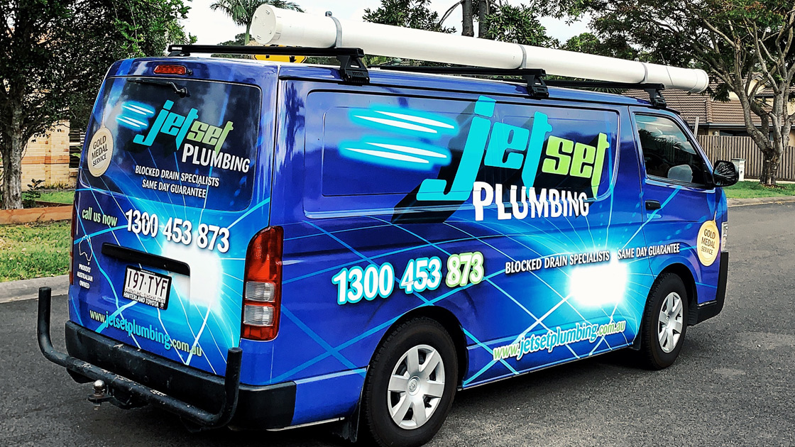 Emergency plumbing van