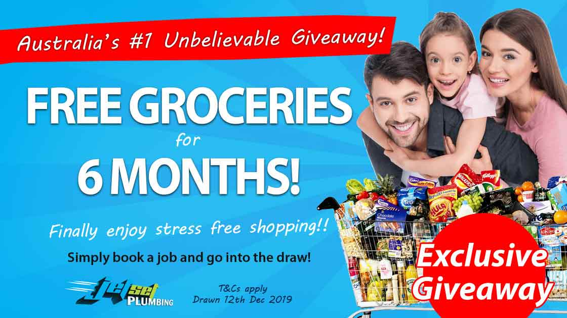 Win Free Groceries for 6 Months