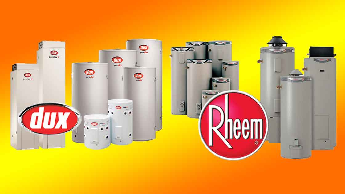 Hot water systems - Dux Rheem