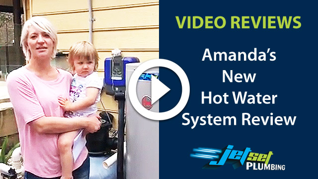 New Hot Water System testimonial video