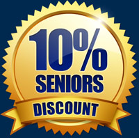 10% Seniors Discount - Leaking Shower