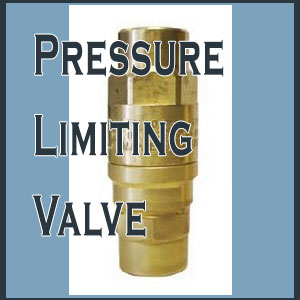 Save BIG By Installing A Pressure Limiting Valve