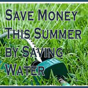Save Money This Summer By Saving Water