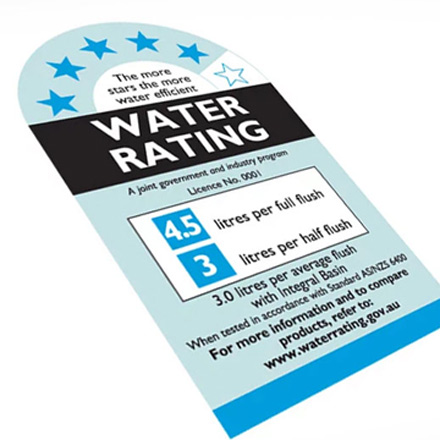 Water Efficiency Certificates