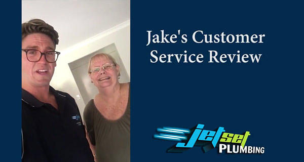Jake's Brisbane customer - Brisbane plumber testimonial
