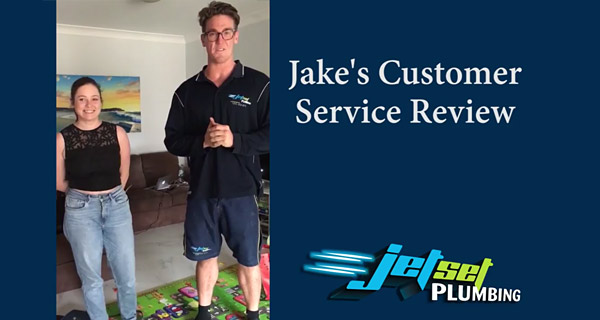 Jake from Brisbane - customer service review