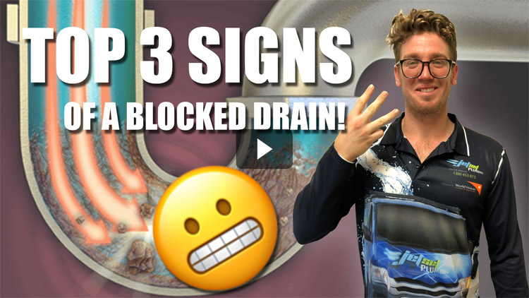 Top3 Signs Of A Blocked Drain video