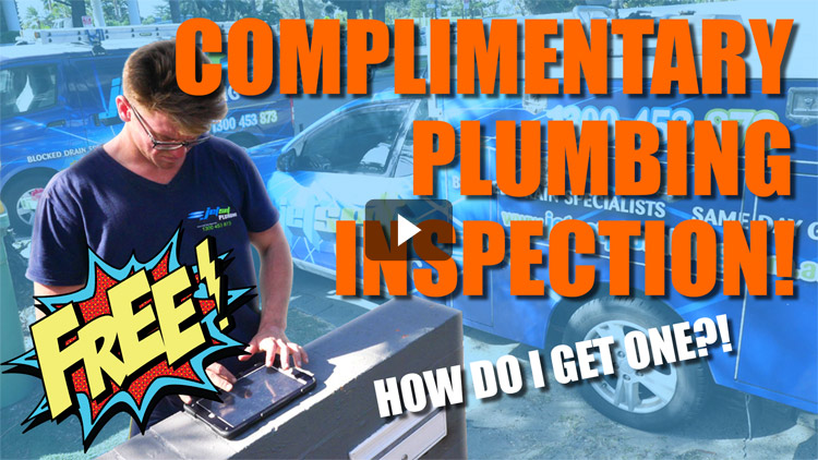 Complimentary Plumbing Inspection video